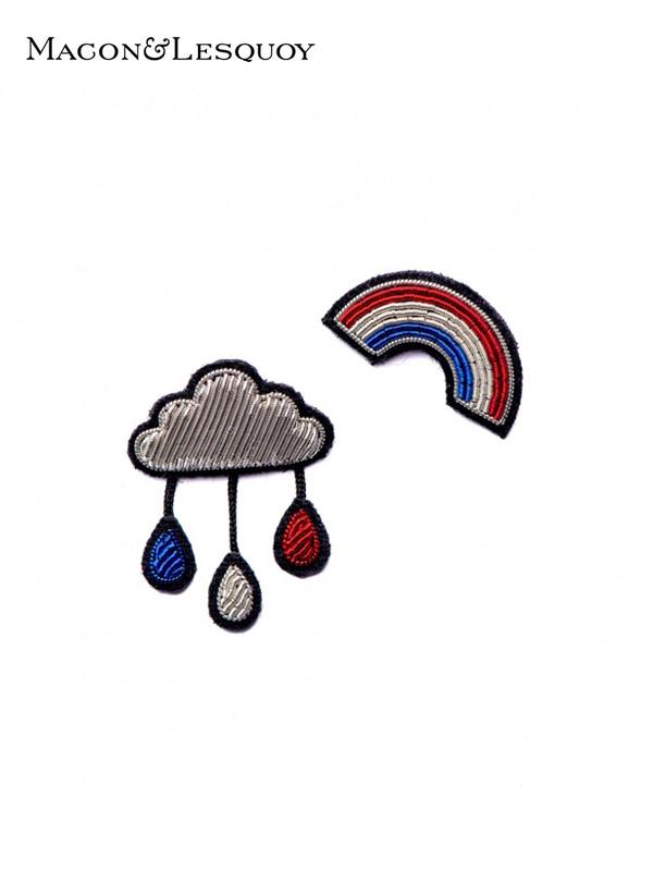 """画像1: 【MACON&LESQUOY - マコン エ レスコア】""""FRENCH RAINBOW"""" PANOPLY BOX(ブローチ/レインボー) (1)"""