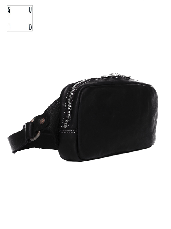 "画像1: 【GUIDI - グイディ】""BV03"" FANNY PACK SMALL / SOFT HORSE FULL GRAIN(ウエストバッグ) (1)"