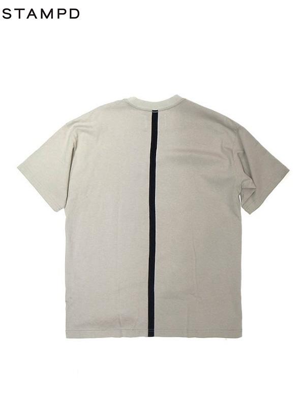 画像1: 【STAMPD - スタンプド】AXIOM TEE / Grey (Tシャツ/グレー) (1)