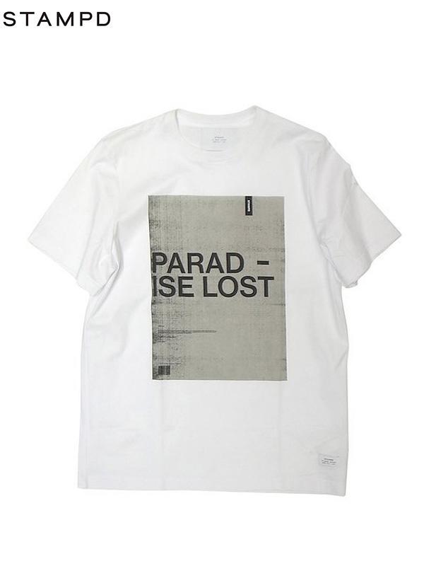 画像1: 【STAMPD - スタンプド】PARADISE LOST TEE/ White (Tシャツ/ホワイト) (1)