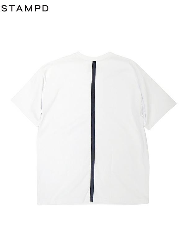 画像1: 【STAMPD - スタンプド】AXIOM TEE / White (Tシャツ/ホワイト) (1)