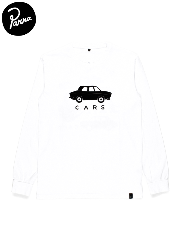 "画像1: 【by Parra - バイ パラ】Long Sleeve T-shirt ""gary's street""/White(Tシャツ/ホワイト) (1)"
