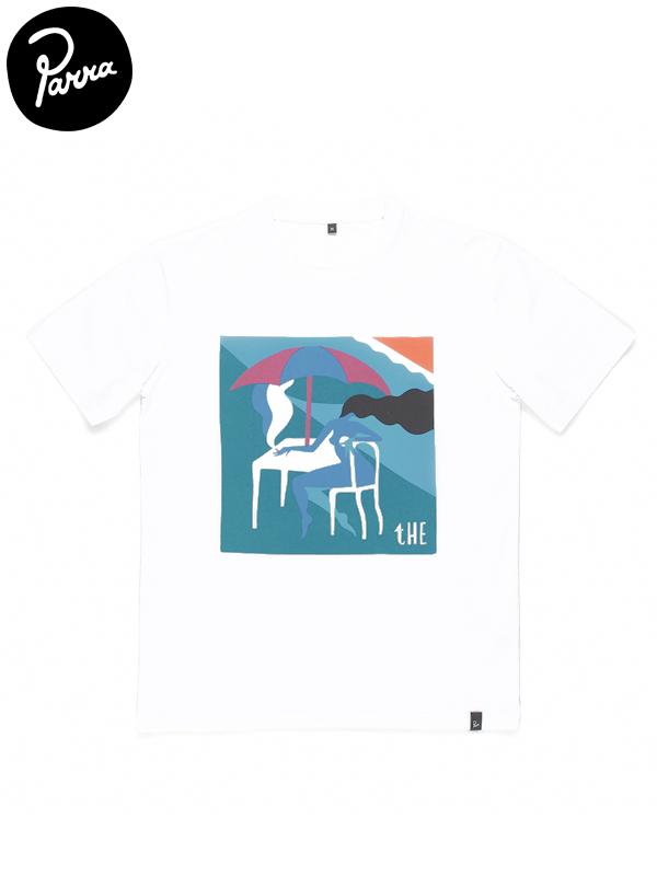 """画像1: 【by Parra - バイ パラ】T-shirt """"the monaco""""/White(Tシャツ/ホワイト) (1)"""