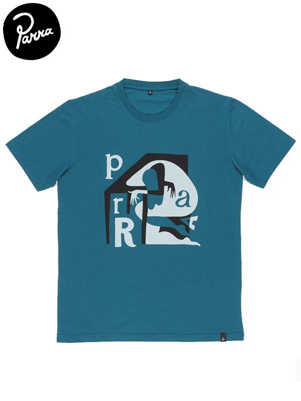 """画像1: 【by Parra - バイ パラ】T-shirt """"table sleeper""""/mallard green(Tシャツ/グリーン) (1)"""