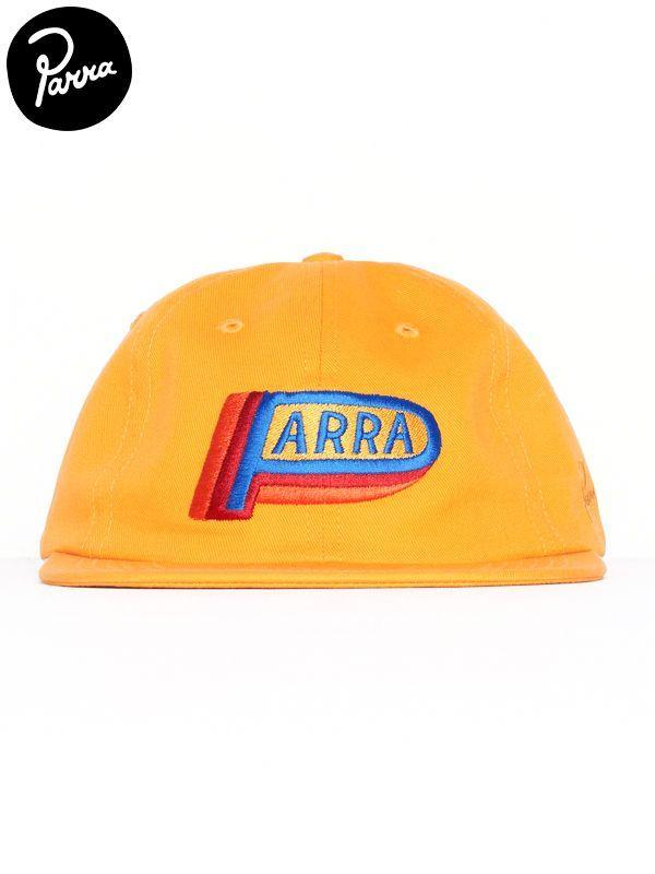 画像1: 【by Parra - バイ パラ】6 panel hat garage oil/Gold yellow(キャップ/ゴールドイエロー) (1)