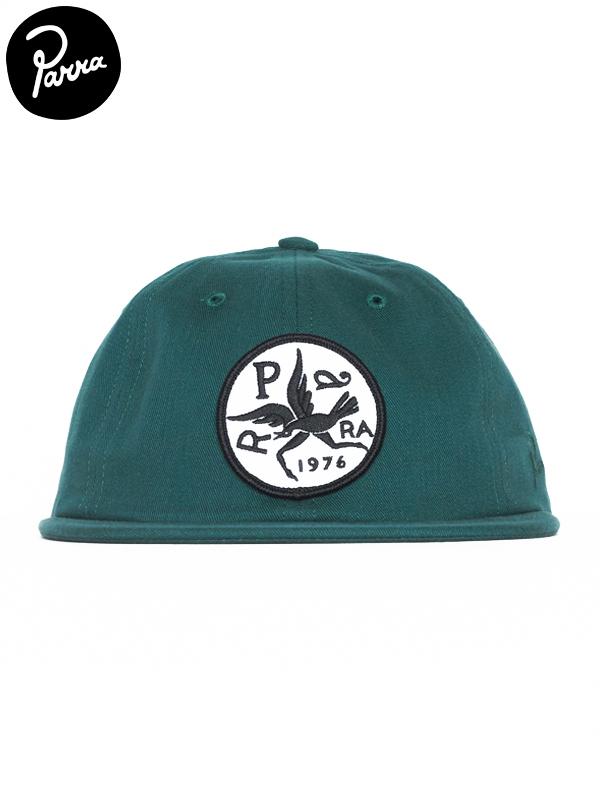 画像1: 【by Parra - バイ パラ】6 panel hat upside down bird/mallard green(キャップ/グリーン) (1)