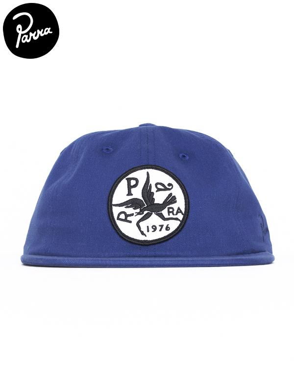 画像1: 【by Parra - バイ パラ】6 panel hat upside down bird/blue(キャップ/ブルー) (1)