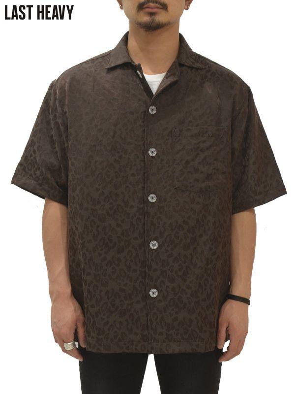 """画像1: 30%OFF【LAST HEAVY - ラストヘビー】Sexy Shirt """"LEOPARD Print"""" / Brown(シャツ/ブラウン) (1)"""