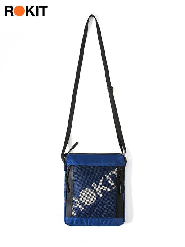 画像1: 【ROKIT - ロキット】The Customs Sidebag / Blue (ポーチ/ブルー) (1)