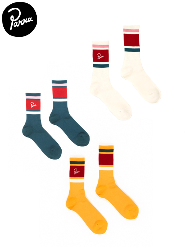 画像1: 【by Parra - バイ パラ】crew socks(ソックス) (1)