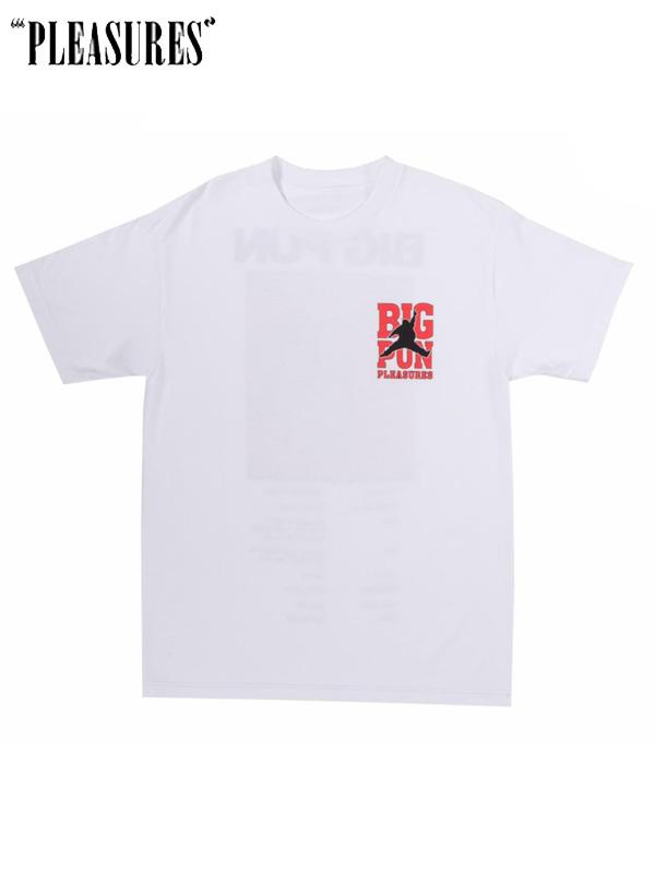 画像1: 【PLEASURES × BIG PUN】 Stats Tee / White (Tシャツ/ホワイト) (1)