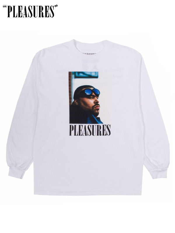 画像1: 【PLEASURES × BIG PUN】 Beware L/S / White (L/S/ホワイト) (1)