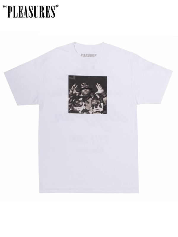 画像1: 【PLEASURES × BIG PUN】 Christopher Tee / White (Tシャツ/ホワイト) (1)