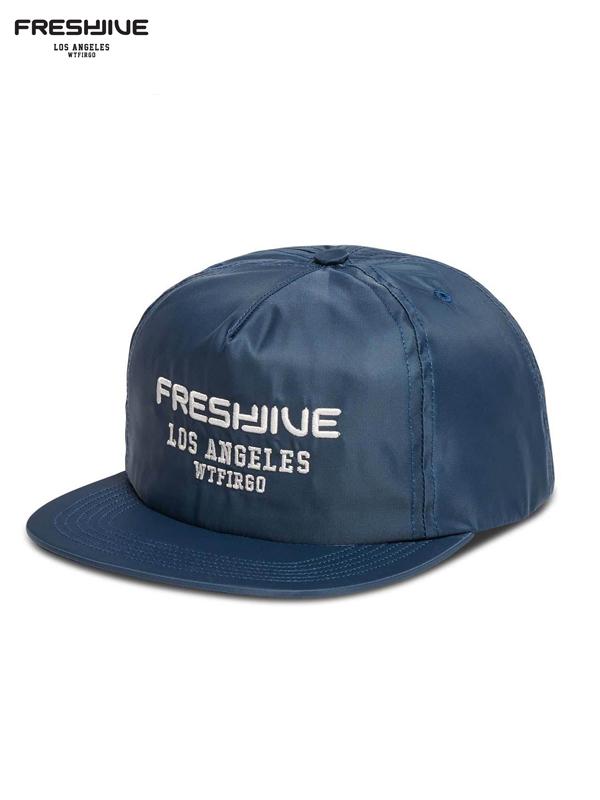 画像1: 【FRESHJIVE - フレッシュジャイブ】SIGNATURE CAP / BLUE (キャップ/ブルー) (1)