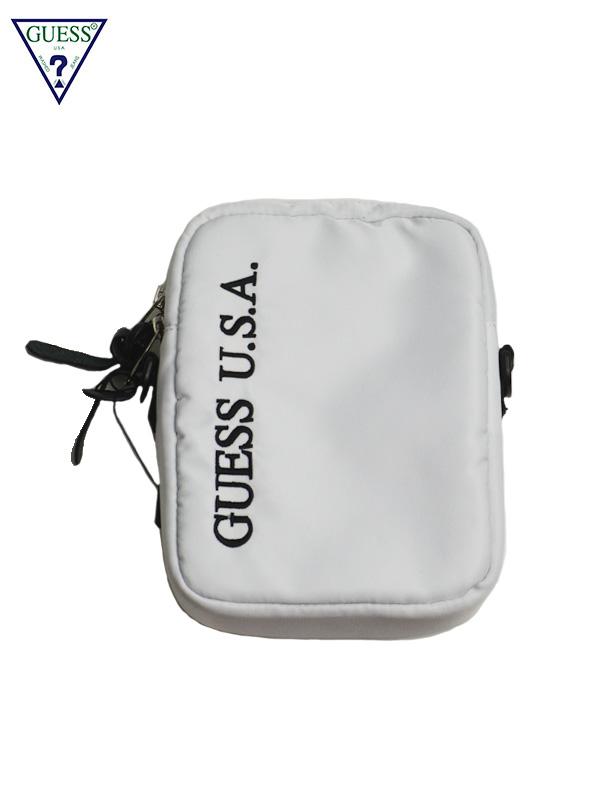 画像1: 【GUESS GREEN LABEL】Guess USA Shoulder Bag/ White(バッグ/ホワイト) (1)
