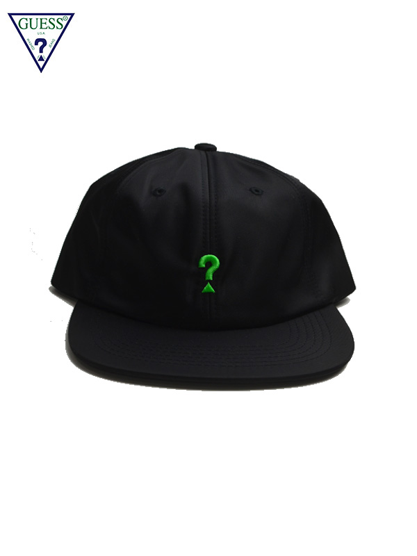 画像1: 【GUESS GREEN LABEL】Lime Q Mark Cap/ Black(キャップ/ブラック) (1)