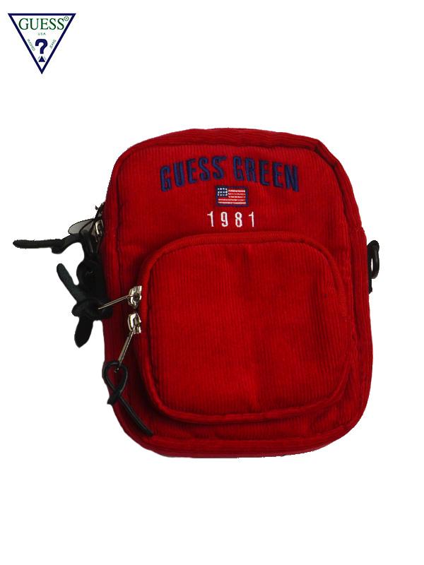 画像1: 【GUESS GREEN LABEL】Guess GN CDR Shoulder Bag/ Red(バッグ/レッド) (1)