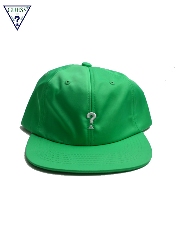 画像1: 【GUESS GREEN LABEL】Lime Q Mark Cap/ Green(キャップ/グリーン) (1)