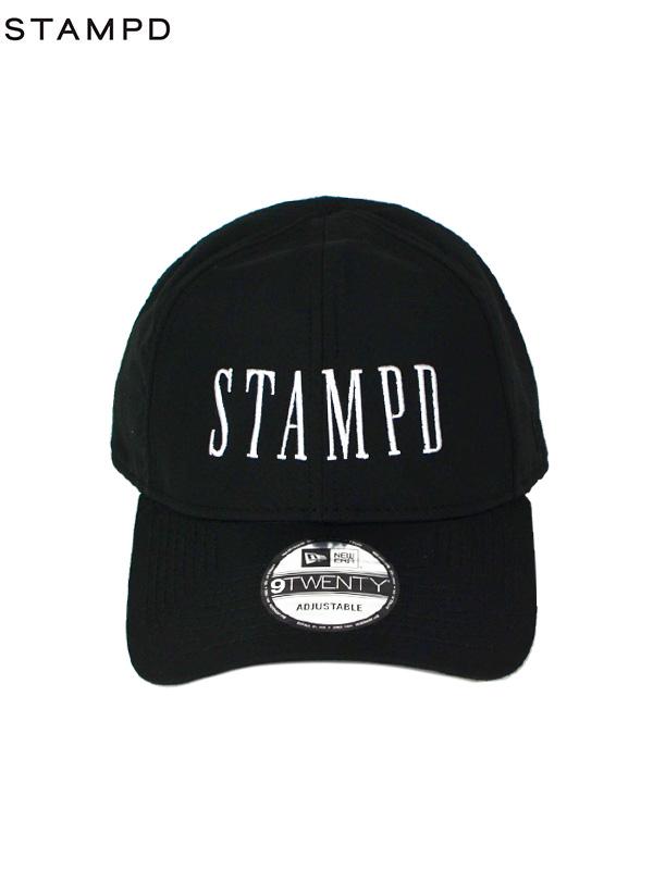 画像1: 【STAMPD - スタンプド】LOCATION HAT / BLACK(キャップ/ブラック) (1)