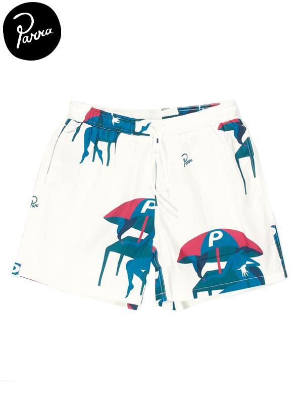"""画像1: 20%OFF【by Parra - バイ パラ】Summer trunks """"monaco"""" / Off white(ショーツ/オフホワイト) (1)"""
