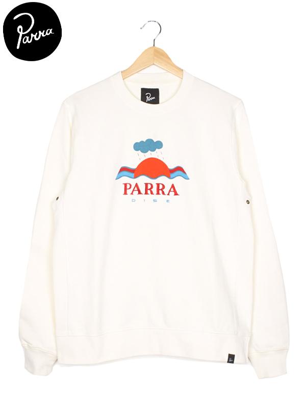 """画像1: 【by Parra - バイ パラ】Crew neck sweater """"Parra dice"""" / Natural(スウェット/ナチュラル)  (1)"""