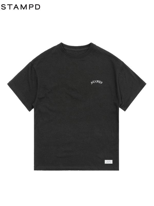 画像1: 【STAMPD - スタンプド】Precious Tee / Black (Tシャツ/ブラック) (1)