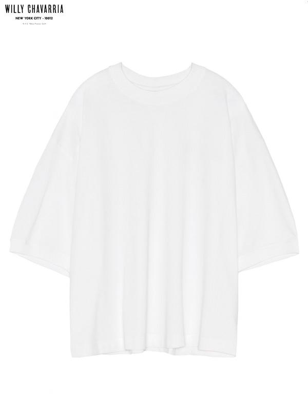 画像1: 【WILLY CHAVARRIA - ウィリーキャバリア】BEEFCAKE BUFFALO T W/ PRINT / OFF WHITE(Tシャツ/オフホワイト) (1)