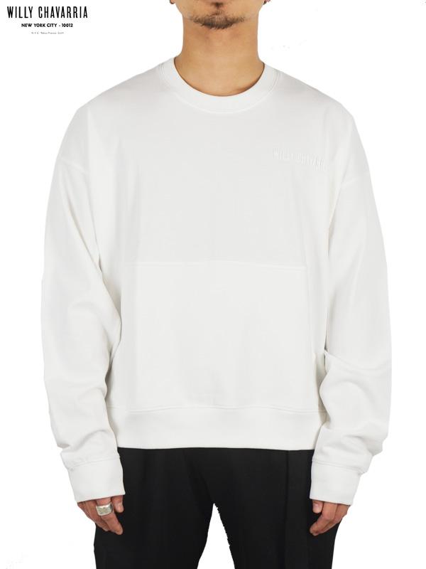 画像1: 10%OFF【WILLY CHAVARRIA - ウィリーキャバリア】LS GUSSET BUFFALO T / OFF WHITE(Tシャツ/ホワイト) (1)
