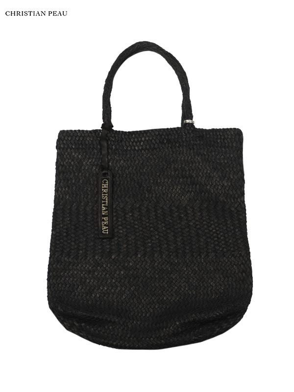 bad6fc1c8d9b 【Christian Peau - クリスチャンポー】CP MESH BAG HIGHT / Black(レザーバッグ/ブラック)  [cp190522002]