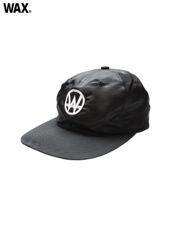 画像1: 20%OFF【WAX - ワックス】W nyron cap / Black(キャップ/ブラック)  (1)