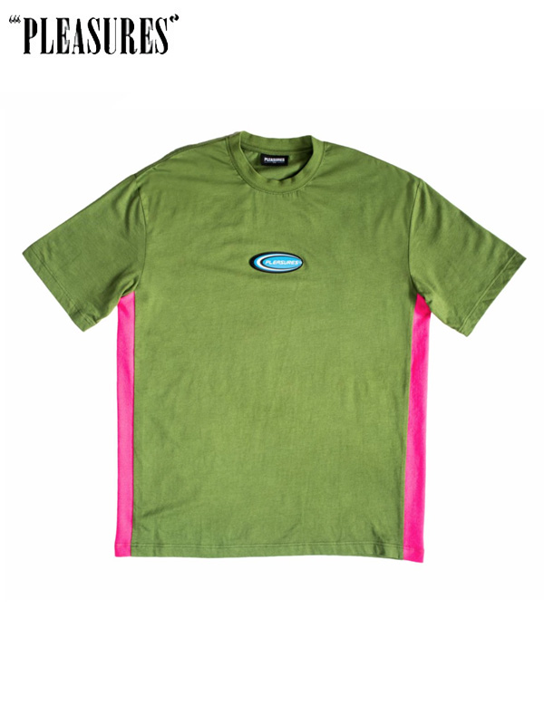 画像1: 20%OFF【PLEASURES】Skyline S/S Tee / Green (Tシャツ/グリーン) (1)