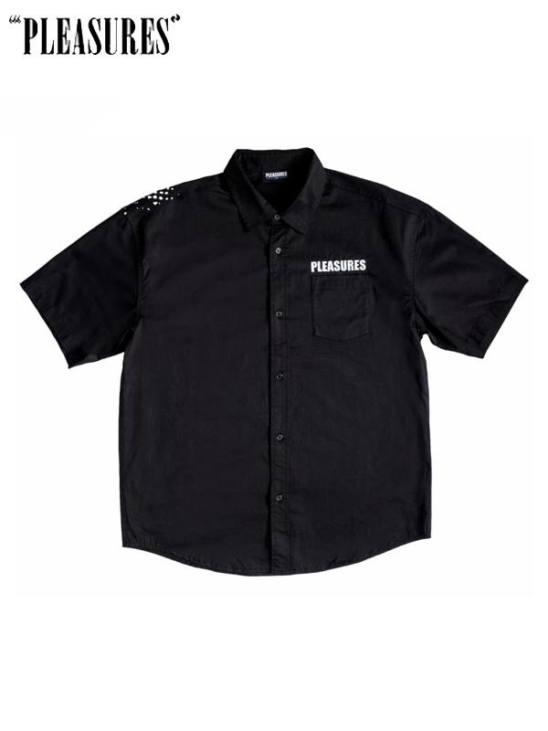 画像1: 【PLEASURES】Transformer Button Up / Black (シャツ/ブラック) (1)