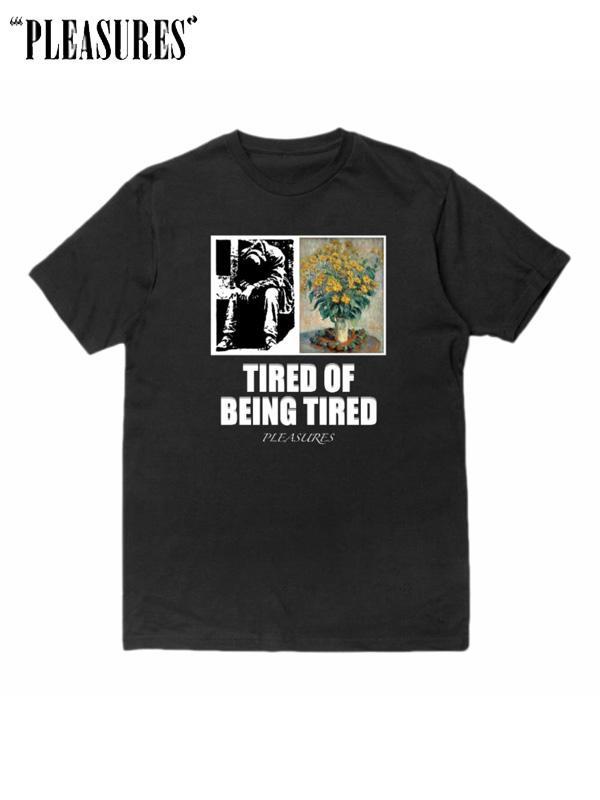 画像1: 20%OFF【PLEASURES】Tired Tee / Black (Tシャツ/ブラック) (1)