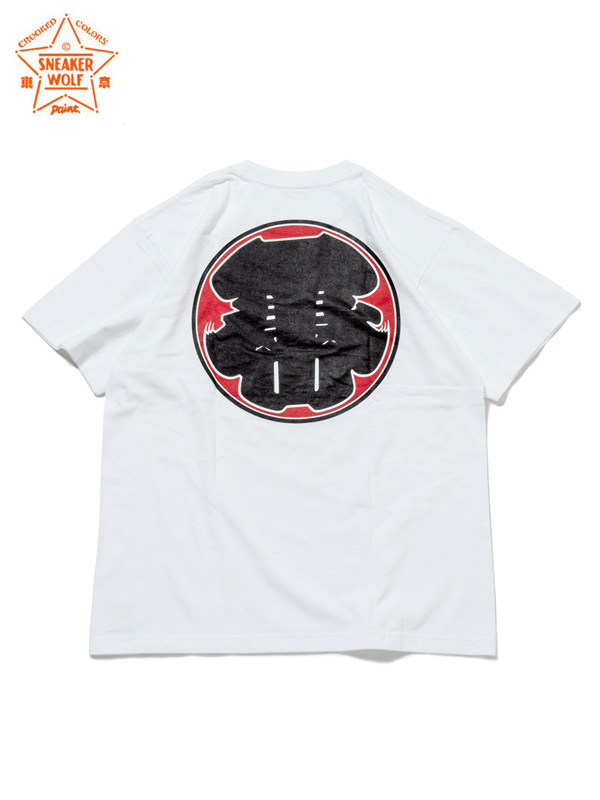 "画像1: 【The Wolf In Sheep's Clothing】""TOKYO"" SS T-Shirts / WHITE(Tシャツ/ホワイト) (1)"