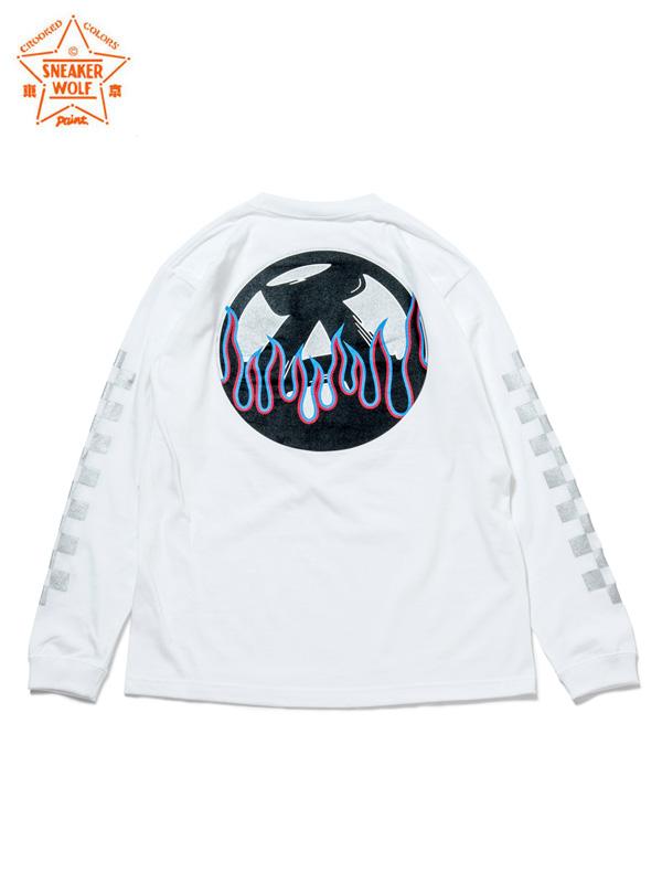 """画像1: 【The Wolf In Sheep's Clothing】""""ANARCHY IN THE E.P"""" LS T-Shirts / WHITE(Tシャツ/ホワイト) (1)"""