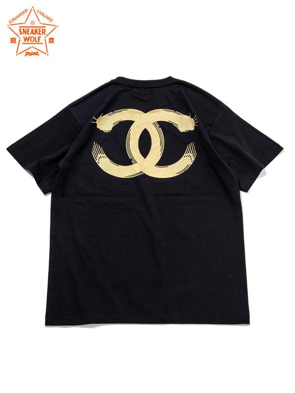 """画像1: 【The Wolf In Sheep's Clothing】""""EYE"""" SS T-Shirts / GOLD(Tシャツ/ゴールド) (1)"""