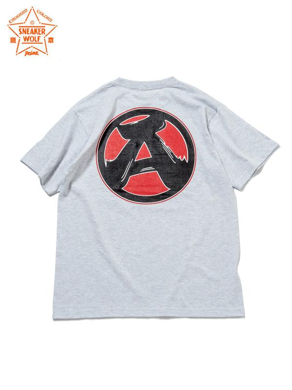 """画像1: 【The Wolf In Sheep's Clothing】""""A"""" SS T-Shirts / ASH(Tシャツ/アッシュ) (1)"""