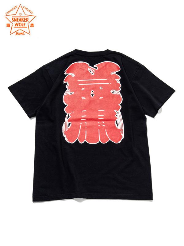 """画像1: 【The Wolf In Sheep's Clothing】""""NEWYORK"""" SS T-Shirts / BLACK(Tシャツ/ブラック) (1)"""