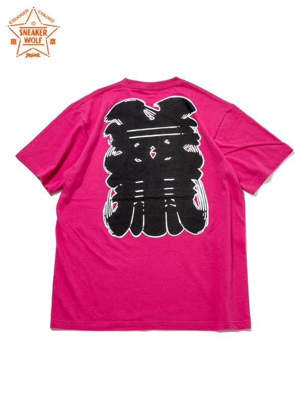 """画像1: 【The Wolf In Sheep's Clothing】""""NEWYORK"""" SS T-Shirts / PINK(Tシャツ/ピンク) (1)"""