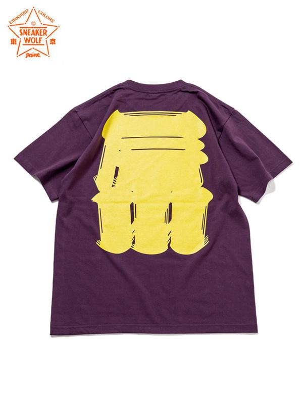 """画像1: 【The Wolf In Sheep's Clothing】""""FTW"""" SS T-Shirts / PURPLE(Tシャツ/パープル) (1)"""