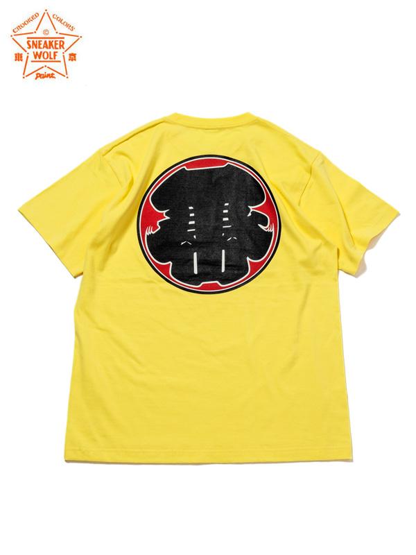 """画像1: 【The Wolf In Sheep's Clothing】""""TOKYO"""" SS T-Shirts / YELLOW(Tシャツ/イエロー) (1)"""
