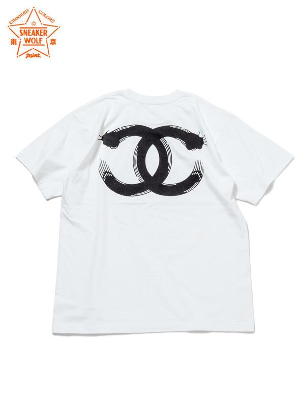 """画像1: 【The Wolf In Sheep's Clothing】""""EYE"""" SS T-Shirts / WHITE(Tシャツ/ホワイト) (1)"""