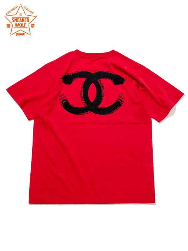"""画像1: 【The Wolf In Sheep's Clothing】""""EYE"""" SS T-Shirts / RED(Tシャツ/レッド) (1)"""