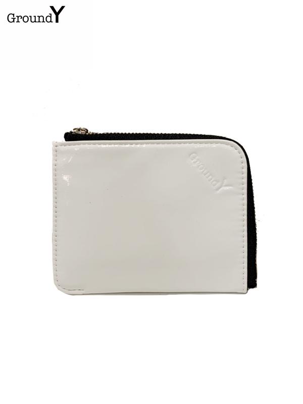 画像1: 【Ground Y  - グラウンドワイ】GY wallet /white (ウォレット/ホワイト)  (1)