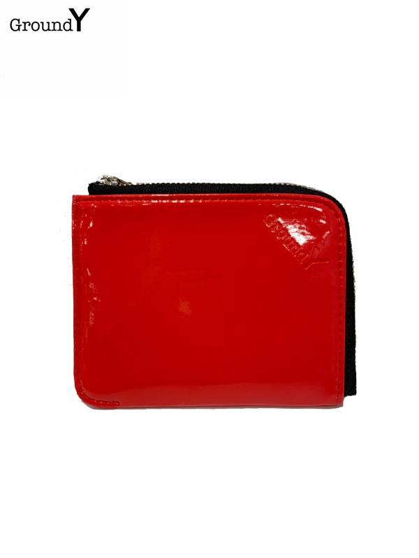 画像1: 【Ground Y  - グラウンドワイ】GY wallet /Red (ウォレット/レッド)  (1)