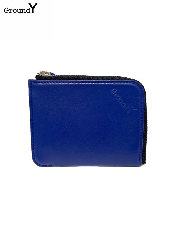 画像1: 【Ground Y  - グラウンドワイ】GY wallet /Blue (ウォレット/ブルー)  (1)