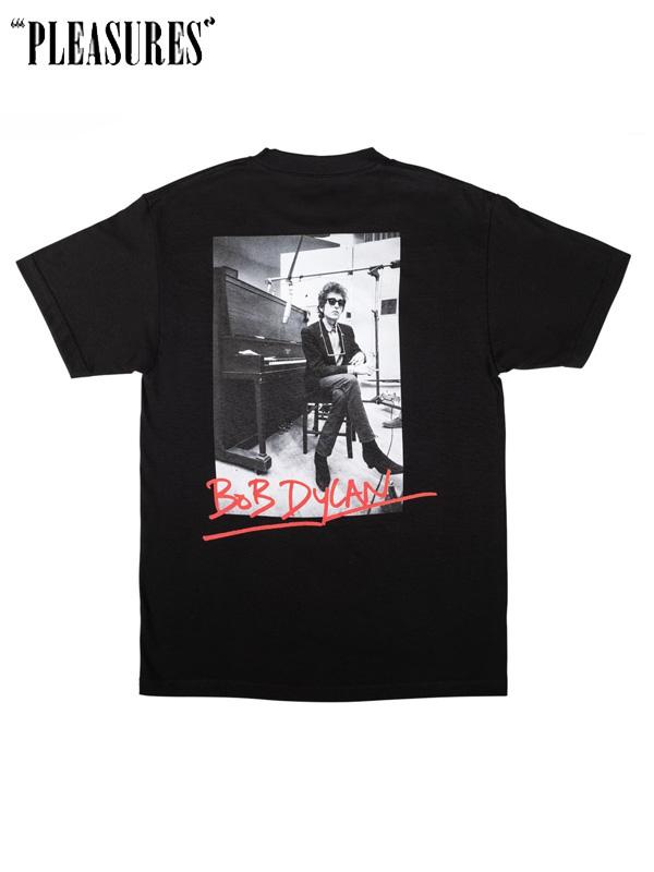 画像1: 【PLEASURES - プレジャーズ】PLEASURE × Bob Dylan / Heaven's Door T-Shirt / Black (Tシャツ/ブラック) (1)