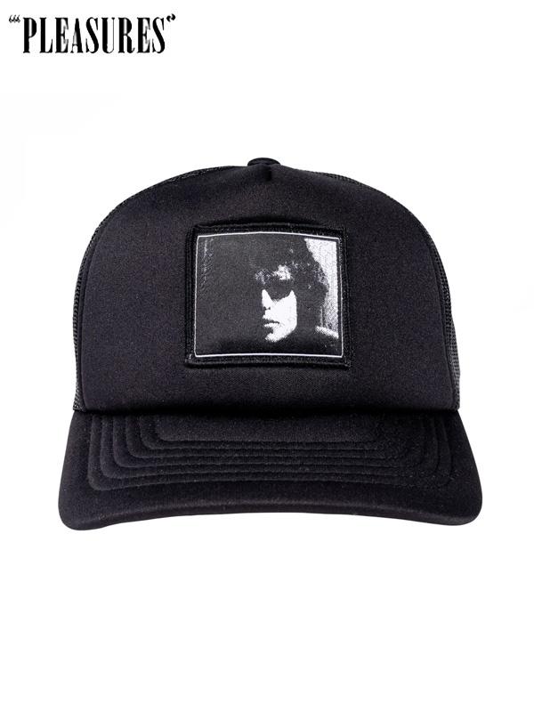 画像1: 【PLEASURES - プレジャーズ】PLEASURE × Bob Dylan / Forever Young Trucker / Black (キャップ/ブラック) (1)