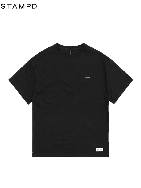 画像1: 【STAMPD - スタンプド】Crest Logo Tee / Black (Tシャツ/ブラック) (1)