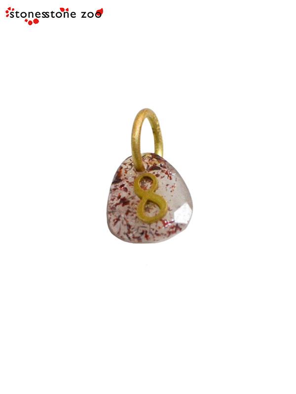 """画像1: 【Stones Stone Zoo - ストーンズ ストーン ズー】""""8"""" PENDANT / Strawberry Quartz (ペンダント/ストロベリークォーツ) (1)"""